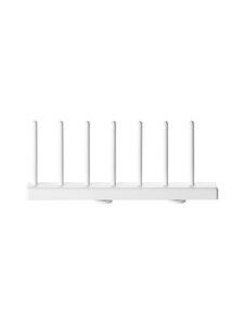 String - String System Plate Rack -lautasteline 2,5 x 7,7 x 20 cm, 2 kpl - WHITE | Stockmann