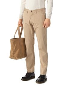 GANT - Chino Twill -housut - DARK KHAKI | Stockmann