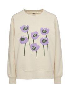 Pure Waste - Sweatshirt Violet Tulips -collegepaita - ECRU | Stockmann
