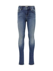 KIDS ONLY - KonBlush Skinny Raw -farkut - MEDIUM BLUE DENIM | Stockmann