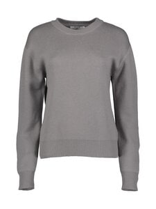 NA-KD - Round Neck Lounge Sweater -paita - GREY | Stockmann