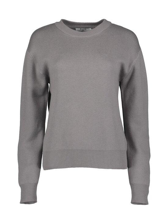 NA-KD - Round Neck Lounge Sweater -paita - GREY   Stockmann - photo 1