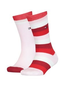 Tommy Hilfiger - Sukat 2-pack - ROUGE RED 302 | Stockmann