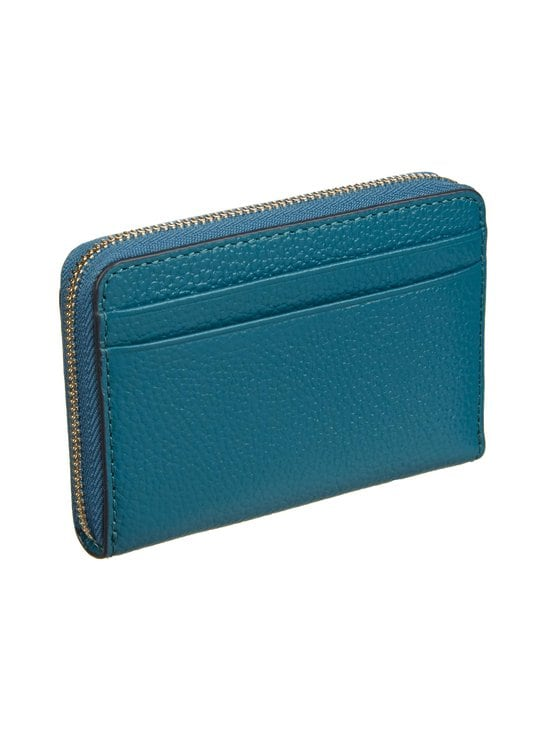Michael Michael Kors - Mott Zip Around Coin Card Case -nahkalompakko - 434 DARK CYAN | Stockmann - photo 2