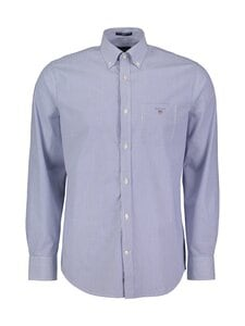 GANT - Regular Broadcloth Banker -kauluspaita - 436 COLLEGE BLUE | Stockmann