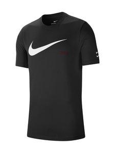 Nike - Swoosh Tee -paita - 010 BLACK/WHITE | Stockmann