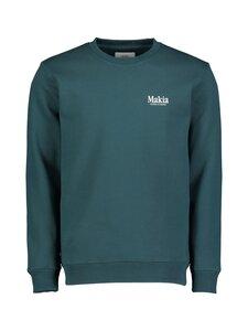 Makia - Origin-collegepaita - 790 TEAL | Stockmann