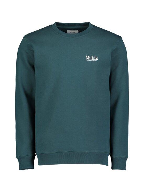 Makia - Origin-collegepaita - 790 TEAL | Stockmann - photo 1
