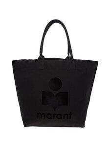 Isabel Marant - Yenky Logo Print -laukku - 01BK BLACK | Stockmann