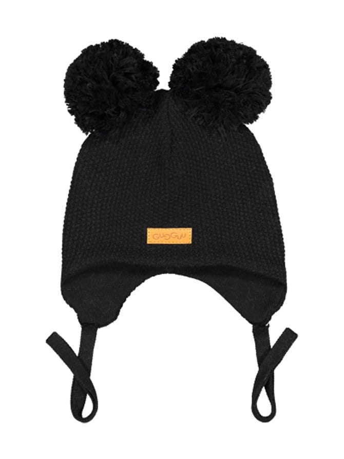Double Tuft Baby Beanie -pipo