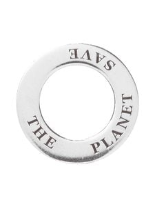 Dfj Collections - Amulet Save the Planet -riipus - SILVER | Stockmann