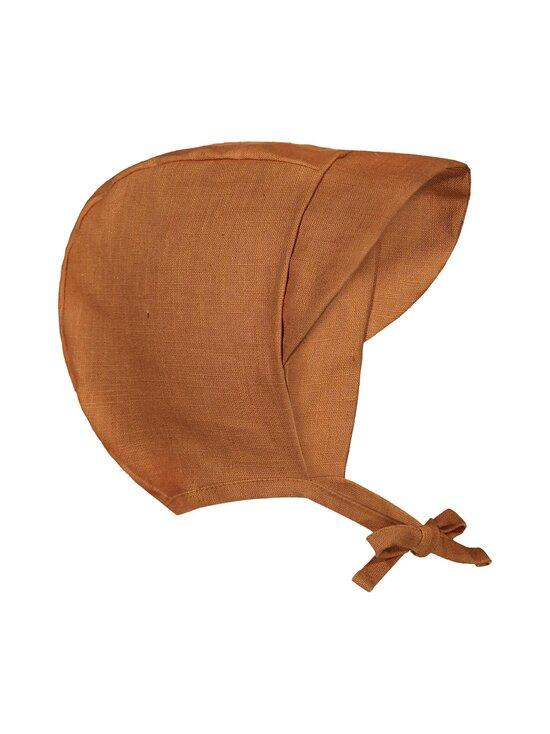 KAIKO - Baby Bonnet -pellavalakki - C9 COGNAC | Stockmann - photo 1