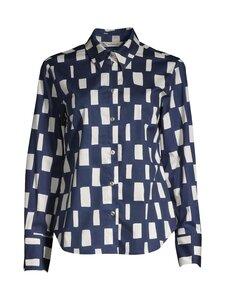 Marimekko - Esikuva -paita - BLUE BLACK CREME | Stockmann