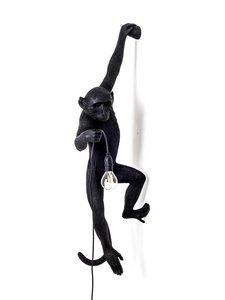 Seletti - Monkey Lamp Hanging -seinävalaisin - MUSTA | Stockmann