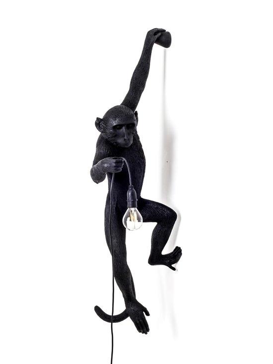 Seletti - Monkey Lamp Hanging -seinävalaisin - MUSTA | Stockmann - photo 1