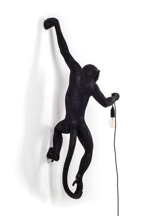 Seletti - Monkey Lamp Hanging -seinävalaisin - MUSTA | Stockmann - photo 2