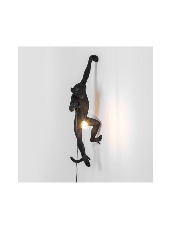 Seletti - Monkey Lamp Hanging -seinävalaisin - MUSTA | Stockmann - photo 4