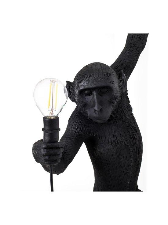 Seletti - Monkey Lamp Hanging -seinävalaisin - MUSTA | Stockmann - photo 5