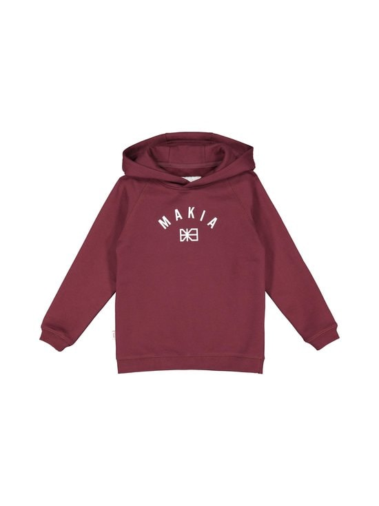 Brand Hooded Sweatshirt -collegepaita