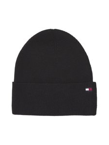 Tommy Hilfiger - Essential Knit Beanie -pipo - BLACK BDS | Stockmann