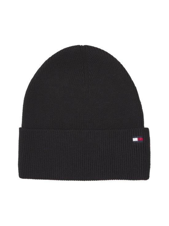 Tommy Hilfiger - Essential Knit Beanie -pipo - BLACK BDS | Stockmann - photo 1