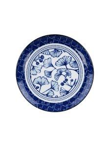 Tokyo Design Studio - Gingko-lautanen 16 cm - BLUE/WHITE | Stockmann