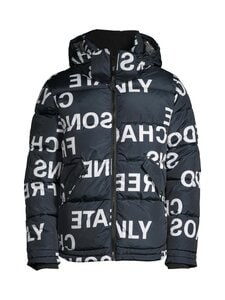 Only & Sons - OnsHill Oversize Aop Puffa -toppatakki - BLACK | Stockmann