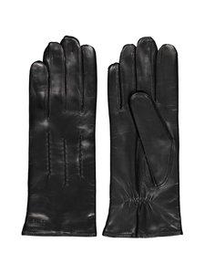 Sauso - Arno Long Finger -nahkarukkaset - BLACK BLACK | Stockmann