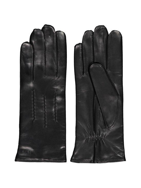Sauso - Arno Long Finger -nahkarukkaset - BLACK BLACK | Stockmann - photo 1