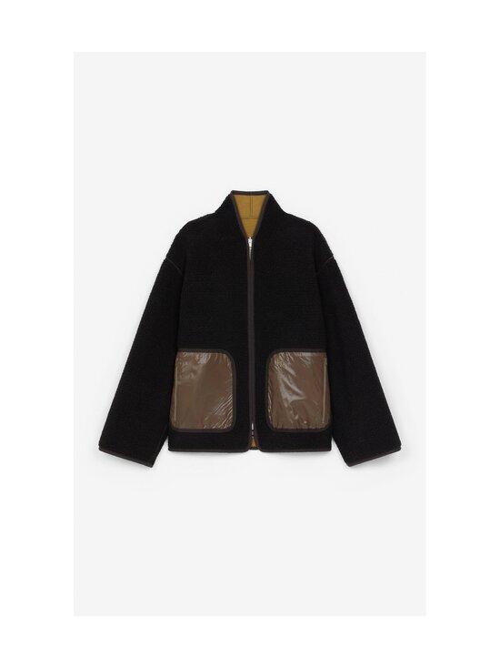 Kenzo - Reversible Jacket -kääntötakki - 164DF.92 92 - DOUBLE FACE PILE - TAUPE   Stockmann - photo 3
