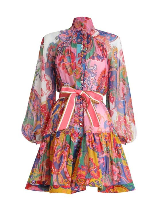 Zimmermann - The Lovestruck Mini Dress -mekko - MIXED PAISLEY FLORAL MIXPF | Stockmann - photo 1