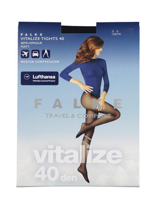 Falke - Vitalize 40 den -tukisukkahousut - 6179 MARINE   Stockmann - photo 1