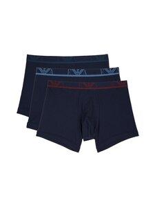 Emporio Armani - Men's Knit 3-Pack -alushousupakkaus - 64135 MARINE/MARINE/MARINE   Stockmann
