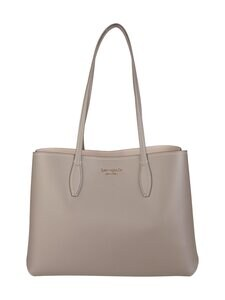 kate spade new york - All Day Large Tote -nahkalaukku - MINERAL GREY | Stockmann