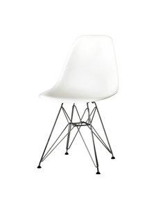 Vitra - Eames DSR -tuoli - VALKOINEN/KROMI | Stockmann