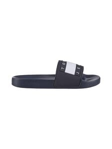 Tommy Hilfiger - Tommy Jeans Flag Pool Slide -sandaalit - C87 TWILIGHT NAVY | Stockmann