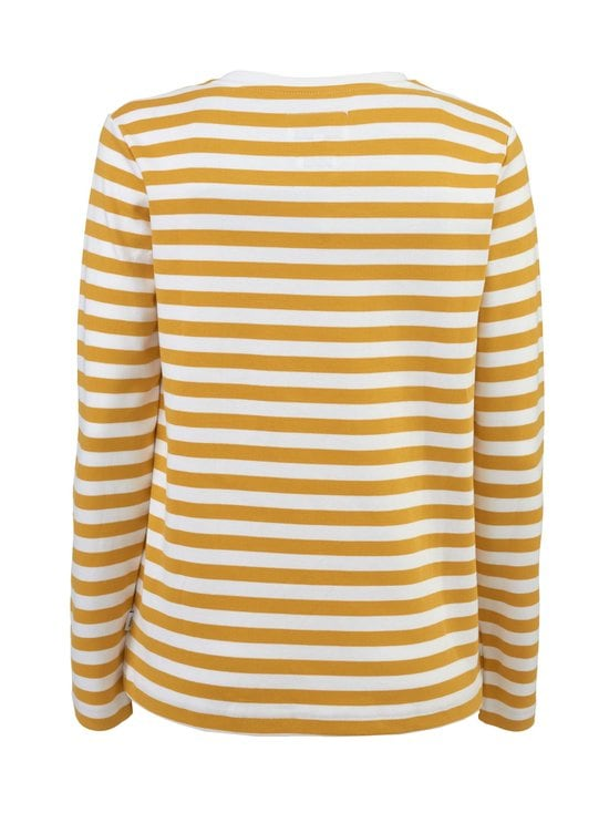 Makia - Verkstad Long Sleeve -paita - 230 OCHRE-WHITE | Stockmann - photo 2