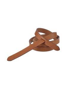 Balmuir - Knot Belt -nahkavyö - 480 COGNAC | Stockmann