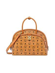 MCM - Large Anna Tote in Visetos -laukku - CO COGNAC | Stockmann