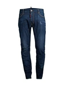 Dsquared - Dark Deep Blue-Wash Tidy Biker Jeans -farkut - 470 BLUE | Stockmann