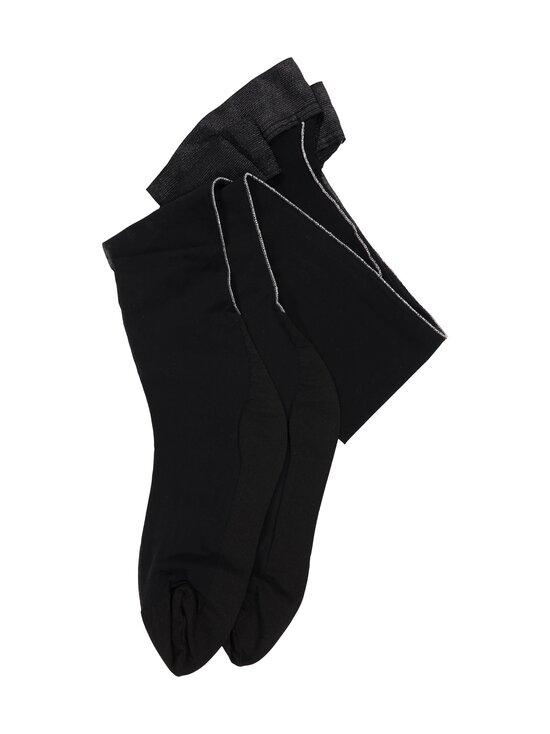 Wolford - Luna-stay-up-sukat 20 den - 7124 BLACK/SILVER | Stockmann - photo 2