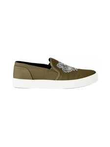 Kenzo - K-Skate Slip-On Sneakers -tennarit - 51 DARK KHAKI | Stockmann