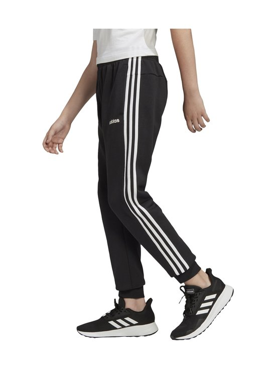 adidas Performance - Essentials 3-Stripes -collegehousut - BLACK/WHITE   Stockmann - photo 8
