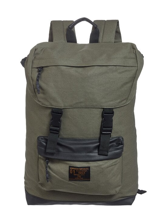 Superdry - Waxed Top Load Commute -reppu - GPA OLIVE NIGHT | Stockmann - photo 1