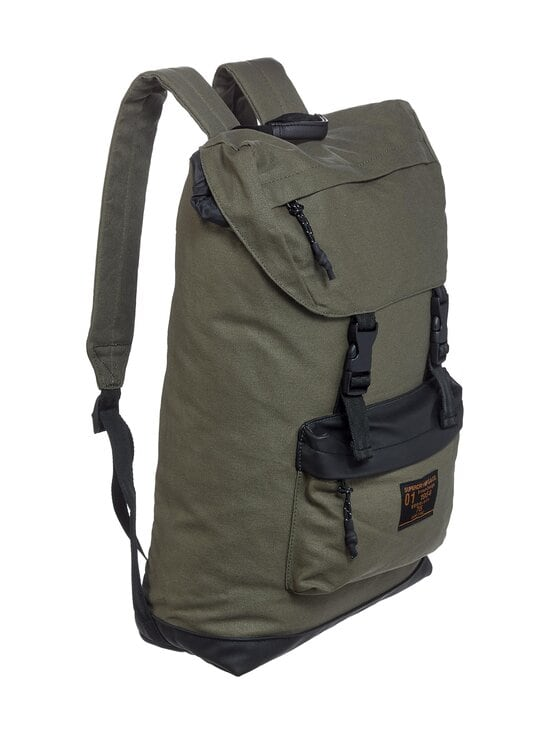 Superdry - Waxed Top Load Commute -reppu - GPA OLIVE NIGHT | Stockmann - photo 2