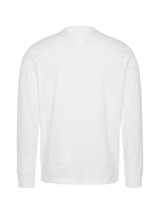 Tommy Jeans - Tjm Longsleeve Corp Logo Tee -paita - YBR WHITE | Stockmann - photo 2
