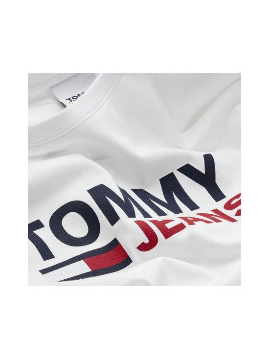 Tommy Jeans - Tjm Longsleeve Corp Logo Tee -paita - YBR WHITE | Stockmann - photo 3