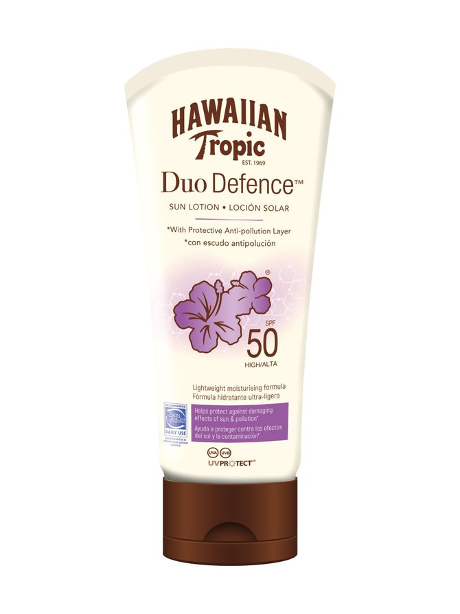 Hawaiian DueDefence Sun Lotion SPF 50 -aurinkosuojavoide 180 ml