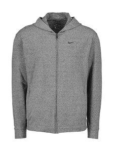 Nike - M Dry Hoodie Full-Zip -huppari - 032 BLACK/HTR/BLACK | Stockmann