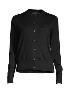 Polo Ralph Lauren - Cardigan Polo -neuletakki - BLACK | Stockmann